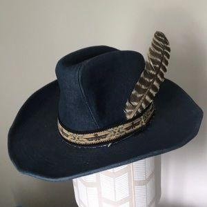 Vintage denim cowboy hat 🤠